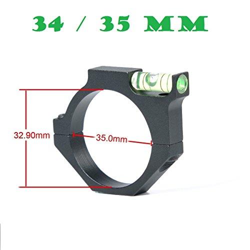 Green Blob Outdoors  3435mm Anti-Cant Vortex Leupold Burris Nikon Riflescope Tubes Bubble Level Scope Rings Mount
