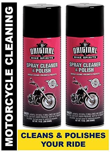 ORIGINAL BIKE SPIRITS Spray Cleaner Polish 14 Ounce Aerosol AJ2719