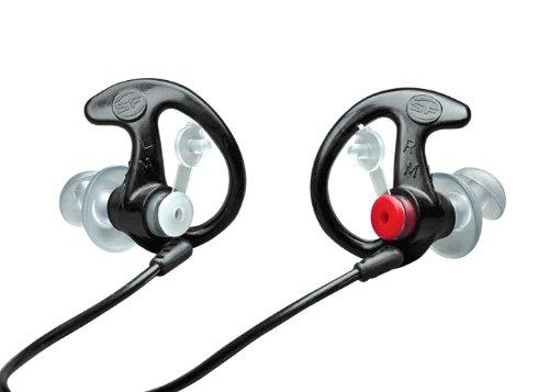Ear Pro By Surefire Sonic Defender Ear Plugs 25-Pair Black Medium