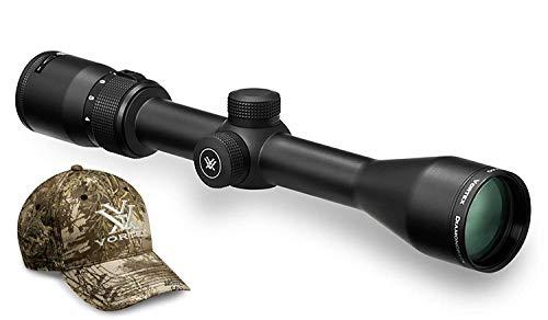 Vortex Optics Diamondback 4-12x40 Second Focal Plane Riflescope - Dead-Hold BDC Reticle MOA with Baseball Hat
