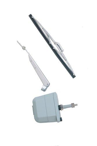 AFI 30004 AFI-500 Marine Windshield Wiper Kit 12-Volt 25-Inch Shaft 80-Degree Sweep