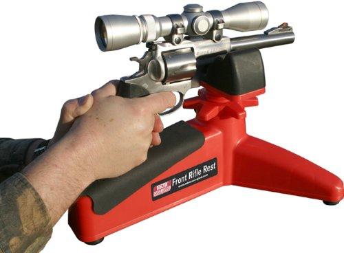 MTM Case-Gard Front Rifle Rest Handgun Pistol Rest Red