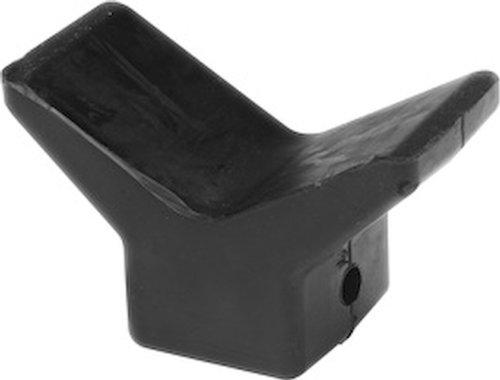 SeaSense Black Rubber Bow Stop 4-Inch