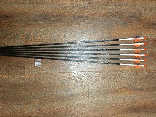 Easton Powerflight 300 Arrows With Blazer Vanes Custom Made Set of 6