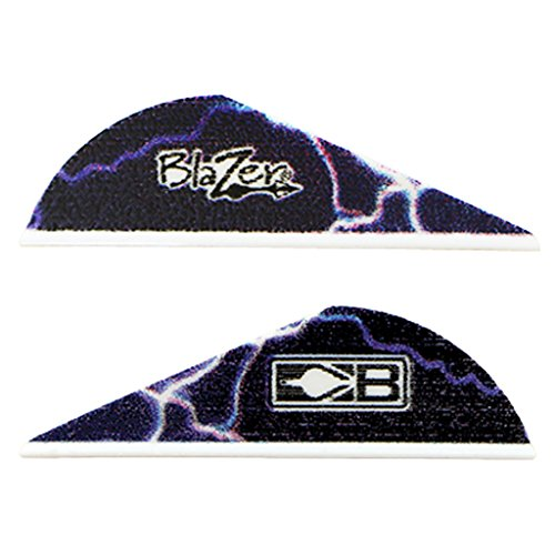 Bohning True Color 2 Blazer Vanes Blue Lightning Blazer Vane 100pk