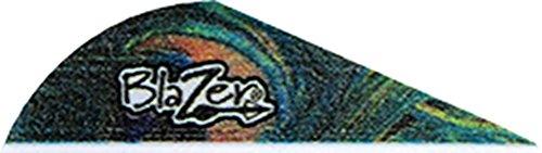Bohning True Color 2 Blazer Vanes Peacock Blazer Vane 100pk