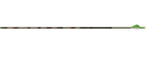 Easton FMJ 340 Camo Hunter Arrows w 2 Blazer Vanes 6pk
