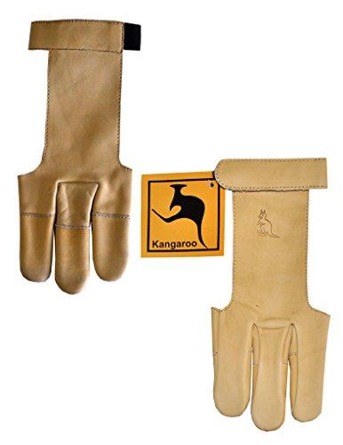 Archery Shooting Glove Kangaroo Leather L