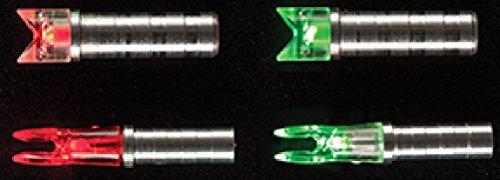 NUFLETCH ARCHERY LLC Ignitor Crossbolt Flat Nock 295 Green 50Hr