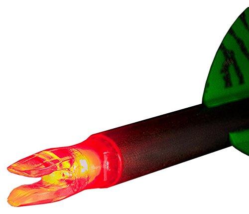 NuFletch Ignitor Nocks Red 204 X Nock 3 Pack Archery Equipment Red