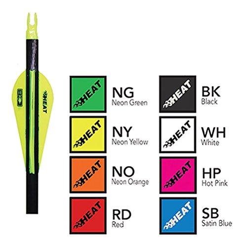 Bohning 25 Heat Vanes Neon Green 25 Heat Vane 100pk