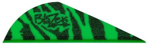 Bohning Blazer Vane Pack of 36 Green Tiger