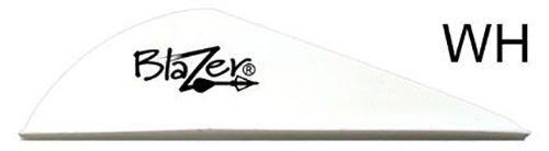 Bohning Blazer Vanes White 50 Pack
