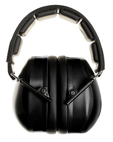 FSL Decimate Earmuffs 34dB NRR Protection - Professional Ear Defenders for Shooting - 3 Year Warranty Black