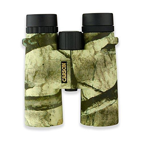 Carson Mossy Oak Caribou 10x42mm Mossy Oak Treestand Waterproof Binocular MO-042
