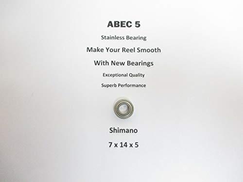SHIMANO TLD 20 2 Speed 92 TT0117 TT0569 ABEC5 Stainless Bearing 7x14x520