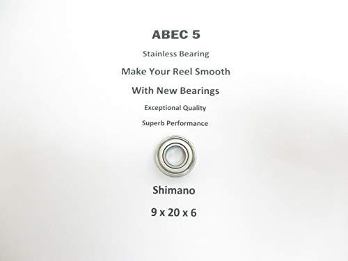 SHIMANO TLD 50 2-Speed 97 TT0366 ABEC5 Stainless Bearing 9x20x621