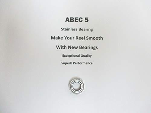 SHIMANO TLD 50 2 Speed TGT0090 TT0378 ABEC5 Stainless Bearing 8x16x533