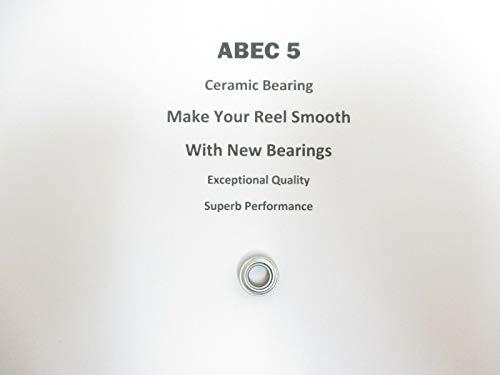 Shimano TLD 15 TLD0170 TLD0216 ABEC5 Ceramic Bearing 6x12x435