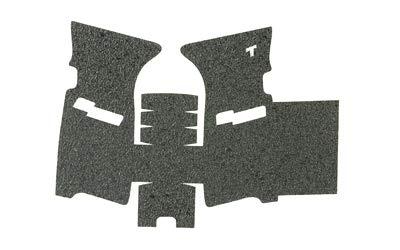 TALON Grips Rear Wrap Grip for Sig Sauer P250P320 Full SizeCarry Rubber Black Rubber Fits Medium Module