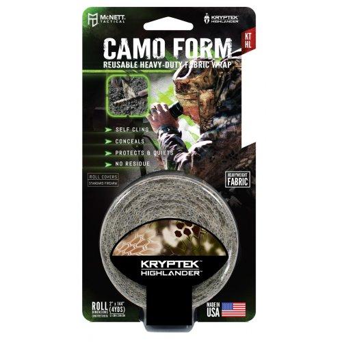 Reusable Heavy-Duty Hunting Camo Form Fabric Wrap - Kryptek Higlhander