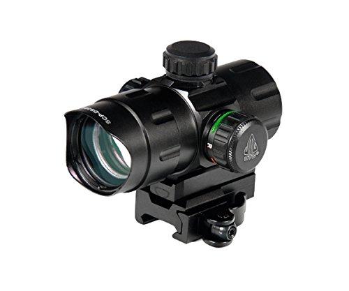 UTG 42 ITA RedGreen CQB Dot with QD Mount Riser Adaptor