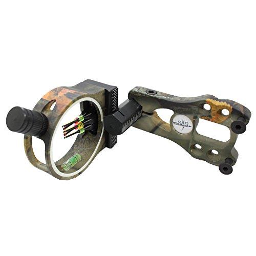 SAS 5-Pin 029 Fiber Optics Bow Sight with LED Sight Light