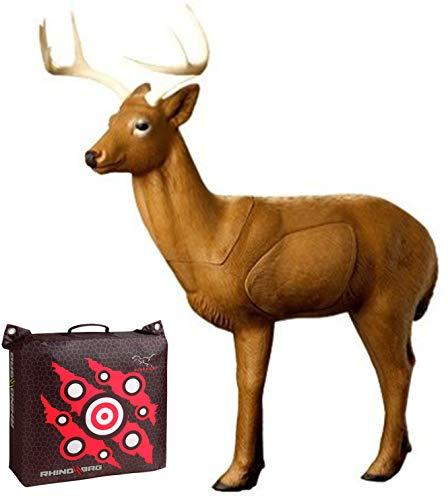 Rinehart Targets Woodland Buck and Rhino Bag 18