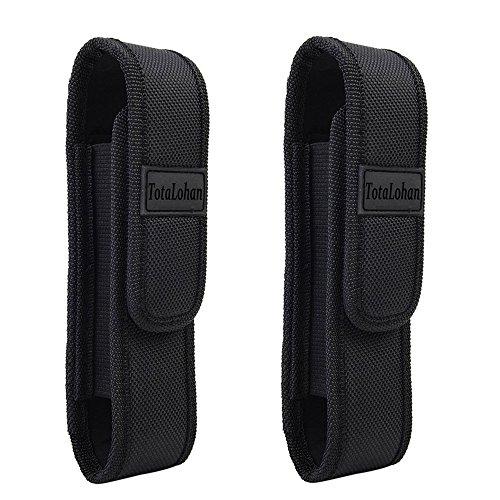 2pcs Tac Light Pouch Holster Belt Carry Cases Fits G700A100T2000X800 Tactical Flashlight