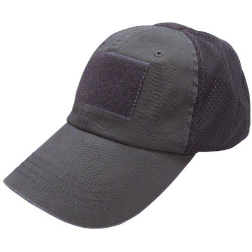 Condor Mesh Tactical Cap Black One Size Fits All