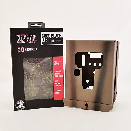 2019 Covert Code Black LTE Wireless Game Camera 20 MP AT&T 5472  Camlockbox