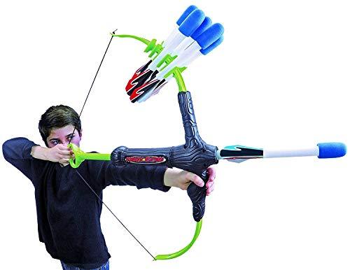 Faux Bow 3 - Shoots Over 100 Feet - Foam Bow Arrow Archery Set