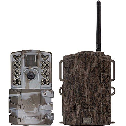 Moultrie A35 14MP 60 HD Video LowGlow IR Game Trail Camera  Mobile Field Modem