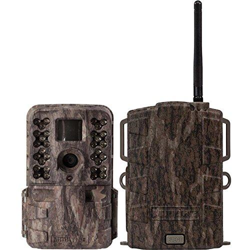 Moultrie M40i 16MP 80 Video No Glow IR Game Trail Camera  Mobile Field Modem