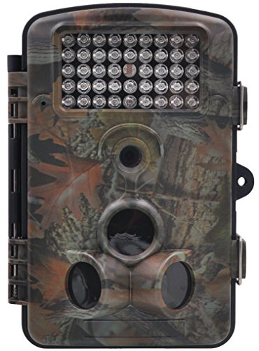 FULLLIGHT TECH 1080P 12 MP Game Trail Camera with Night Vision Motion Activated IP54 Waterproof HD Outdoor Small Deer Wildlife Camera 1 Year Products Warranty