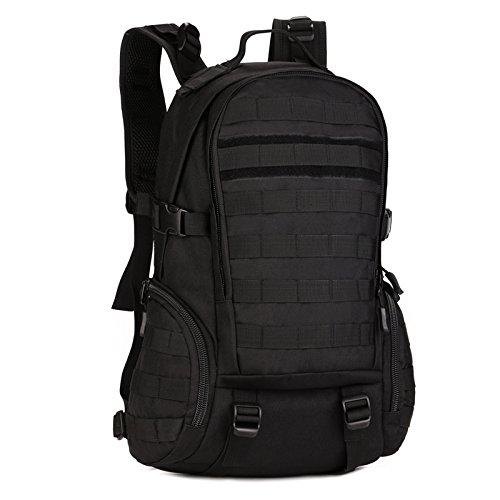 Huntvp 35L Tactical Daypack Military Backpack Gear MOLLE Student School Bag Assault Pack Rucksack For Hunting Camping Trekking Travel