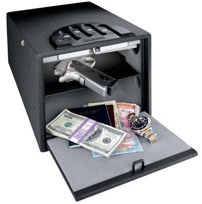 GunVault Deluxe Multi Vault Safe 14 x 10 x 8 Black