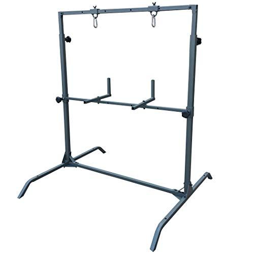 Highwild Archery Target Stand  Adjustable 3D Archery Target Stand  Compound Bow and Arrow Stand Rack Holder