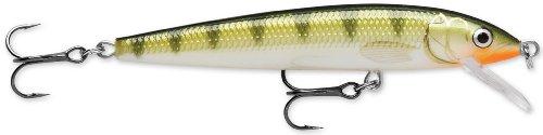 Rapala Husky Jerk 10 Fishing lure 4-Inch Yellow Perch