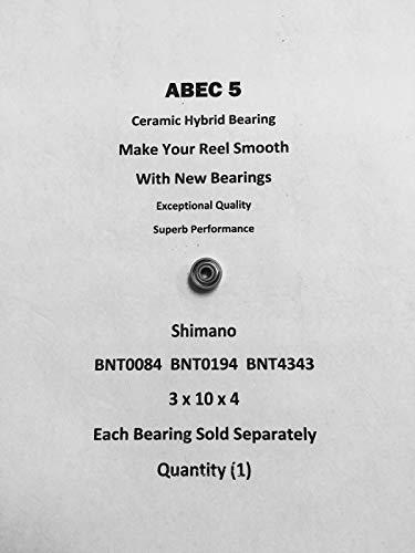 SHIMANO Chronarch 100A BNT0084 BNT0194 BNT4343 ABEC5 Ceramic Bearing 3x10x402