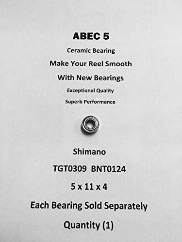 SHIMANO Chronarch 201E6 TGT0309 BNT0124 ABEC5 Ceramic Bearing 5x11x407