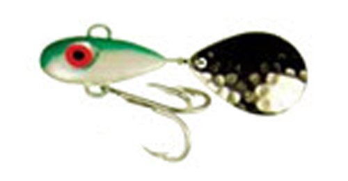 Manns Bait Company Little George Fishing Lure Pack of 1 12-Ounce White Green