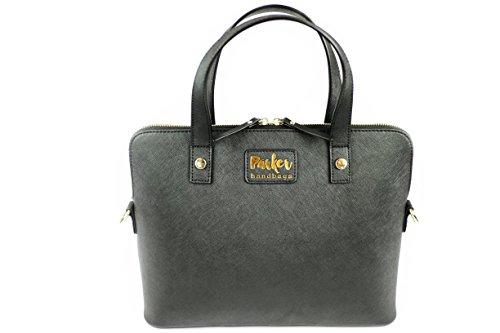 Parker Handbags Clandestina Concealed Carry Purse Black