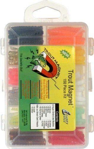 LELAND Trout Magnet Kit 152-Piece