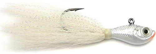 13 Fishing SPRO SBTJW-8 Bucktail Jig White 8 oz