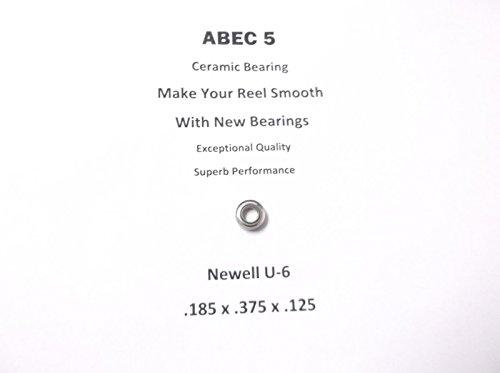 Newell Reel Part 646 3 U-6 ABEC 5 Ceramic Bearing 185 x 375 x 125 17