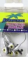 Hurricane Saltwater Jig Head 14-Ounce Shad