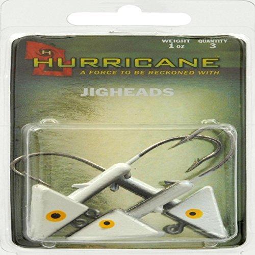 Hurricane Saltwater Jig Head 1-Ounce Shad