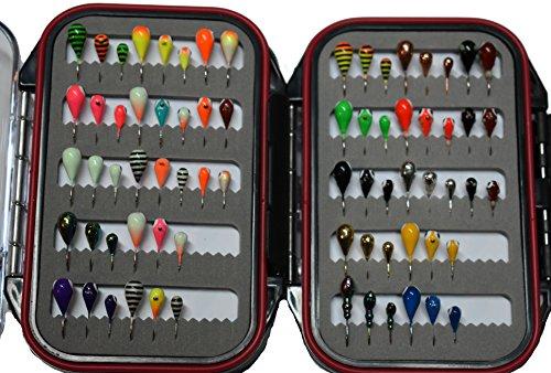 72 Piece Tungsten Ice Jig Kit