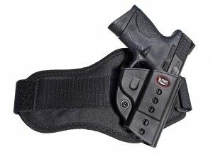 Light Fobus Evolution Holster Case S&W M&P 9mm 40 45 SD9 SD40 Ankle style HandGun Pistol Concealed Carry HandGun Pistol Concealed Carry Pouch Tactical Hard Polymer